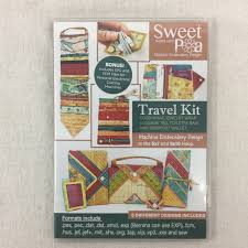 Sweet Pea Embroidery Designs Sweet Pea Travel Set Cd