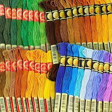 447 Threadnanny All Dmc Colours Embroidery Cross Stitch