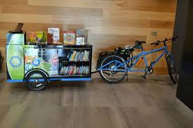 Books On Bicycle Design Book Bike Bike Book Delivery Library Books Bike Public