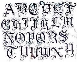 Old English Tattoo Pin Fancy Fonts Calligr 5571721 Top Tattoos Ideas