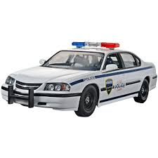Plastic Model Kit-'05 Chevy Impala Police Car 1:25 - Walmart.com