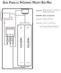 mosfet box mod kit