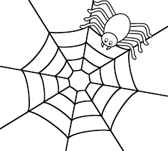 Halloween Spider Coloring Pictures \u2013 Fun for Christmas