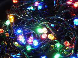 100 multi colour tree fairy lights multi action indoor outdoor led timer 10m