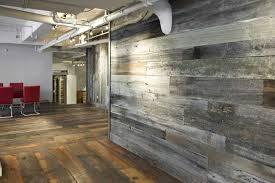 custom made reclaimed wood wall paneling