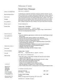 Retail Sales Executive Resume Sales Executive Resume Format Pdf Retail Manager Orlandomoving Co