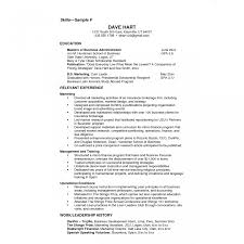 Sample Resume Skills Resume Skills Example Computer Sample For Tourism Ojt Students 22