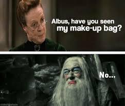 Funny Harry Potter Dumbledore Mcgonagall | Mcgonagall | Pinterest ... via Relatably.com