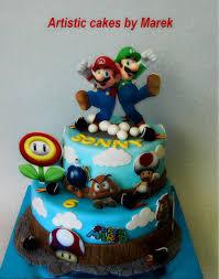 Check out these amazing mario birthday party ideas. Super Mario Birthday Cake Cake By Marek Cakesdecor