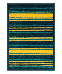 love this product teal yellow stripe terrace indoor outdoor rug