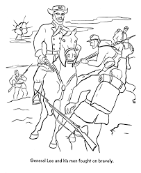 Small Picture USA Printables America Civil War Coloring Pages Robert E Lees