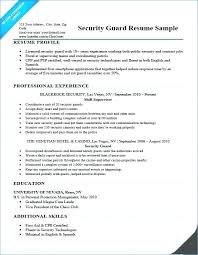 Example Of Security Guard Report Writing Of Resume Helo Simple Best ...