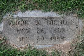 "Virginia ""Virgie"" Wade Nichols (1887-1953) - Find A Grave Memorial"