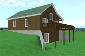 lake cabin plans with walkout basement for in malton