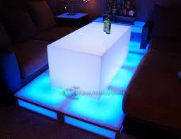 44x23 lumen led illuminated lounge