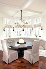 breakfast nook chandelier breakfast nook with wicker chair and nautical decor kitchen nook chandeliers