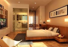 Nice Warm Nuance Of The Interior Modern Cozy Bedroom Interiors