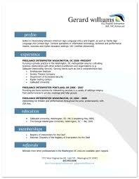 translator resume no experience cipanewsletter interpreter resume sample size a lance translator cv interpreter