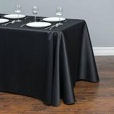 solid color tablecloth rectangular satin tablecloth table cloth cover waterproof wedding banquet home decor black solid