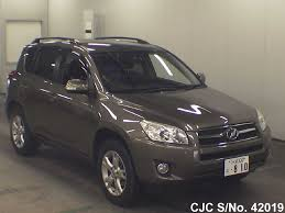 2009 Toyota Rav4 Brown for sale | Stock No. 42019 | Japanese Used ...
