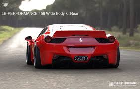 ferrari italia widebody. lb performance ferrari 458 bootay 600x381 at italia widebody t
