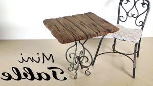 how to make miniature furniture. Photo 1 Of 7 Miniature Furniture; Small Table Tutorial - YouTube ( How To Make Furniture #2 O