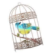 This whimsical bird cage wall decoration is sure to brighten any room. Wedding Bird Cage Wall Art Decor Iron Wrought Cage Decoration European Style Home Centerpiece Figurines Miniatures Aliexpress