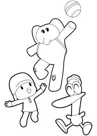 Pocoyo And Pato Drawings Golfclub