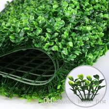 creative atificial turf wall milan eucalyptus plastic proof fake grass lawn 60 40cm outdoor ivy fence bush plant wall garden decorations plastic proof fake