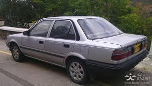 Toyota Corolla (1988), Sedan 1.3L Petrol Manual for sale Nicosia ...