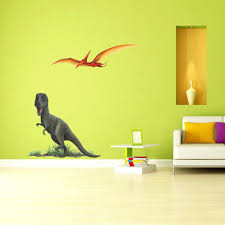 giant dinosaur wall decals giant pterodactyl wall sticker as part of a  dinosaur themed bedroom wall . giant dinosaur wall decals ...