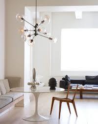 mid century lighting. dining room tulip table sputnik light modern lighting midcentury style mid century
