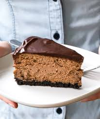 chocolate cheesecake recipe. Exellent Recipe Triple Chocolate Cheesecake Inside Recipe