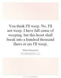 weep quotes