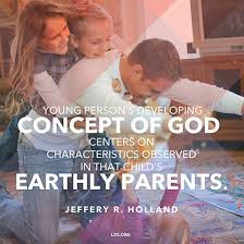 God Quote Interesting Earthly Parents