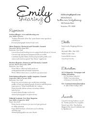 Court Reporter Resume For Study Print Journalist Sample Of