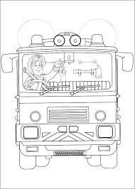 75 Disegni Di Sam Il Pompiere Da Colorare Pianetabambiniit