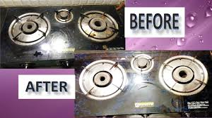 how to clean gas stove at home how to clean glass top stove