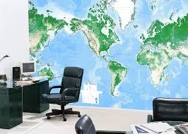 office world map. World DMA Mural Flat 8 Sheet 3960 X 2640 Office Map F
