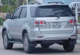 File:2012 Toyota Fortuner (KUN60) V wagon (2015-12-28).jpg ...