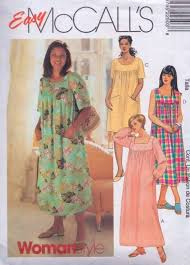 Muumuu Pattern Mesmerizing PLUS SIZE MuuMuu Dress Sewing Pattern Hawaiian House Dresses 48
