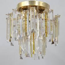 Vintage Italian Murano Glass Ceiling Light 1