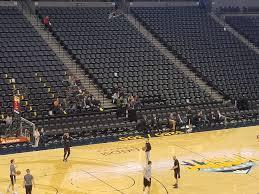 Pepsi Center Courtside Basketball Seating Rateyourseats Com