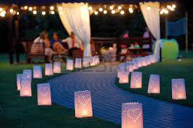 summer house lighting. Lantern Summerhouse And Night Lighting Path For Walks In The Garden On  Blurred Background Stock Photo Summer House