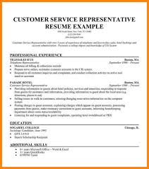 Resume Objective For Customer Service 100 objective for resume customer service emails sample 72
