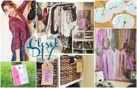 DIY Closet Organization TumblrPinterest Inspired YouTube