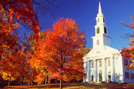 Image result for fall pictures of churches