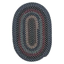 colonial mills boston common winter blues oval indoor throw rug common 2 x 4