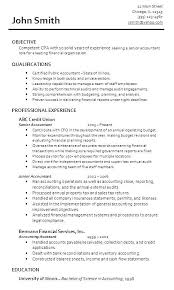 Certified Public Accountant Resume Public Accounting Resume