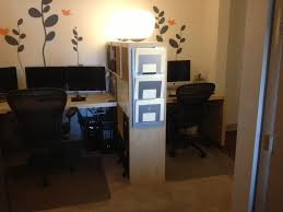 home office small shared. Room Divider Idea, Small Space Solutions: Creates Shared Home Office O